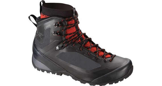 Arcteryx M's Bora2 Mid GTX Hiking Boot Black/Cajun